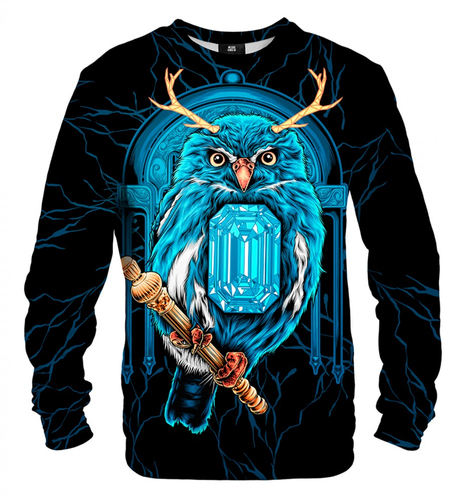 Mr. Gugu & Miss Go, Diamond Owl sweater Imagen $i