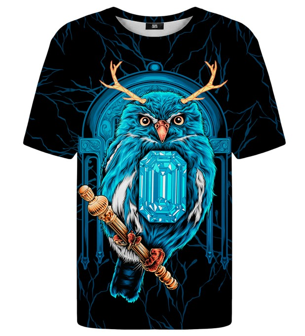 Diamond Owl t-shirt Miniaturbild 1