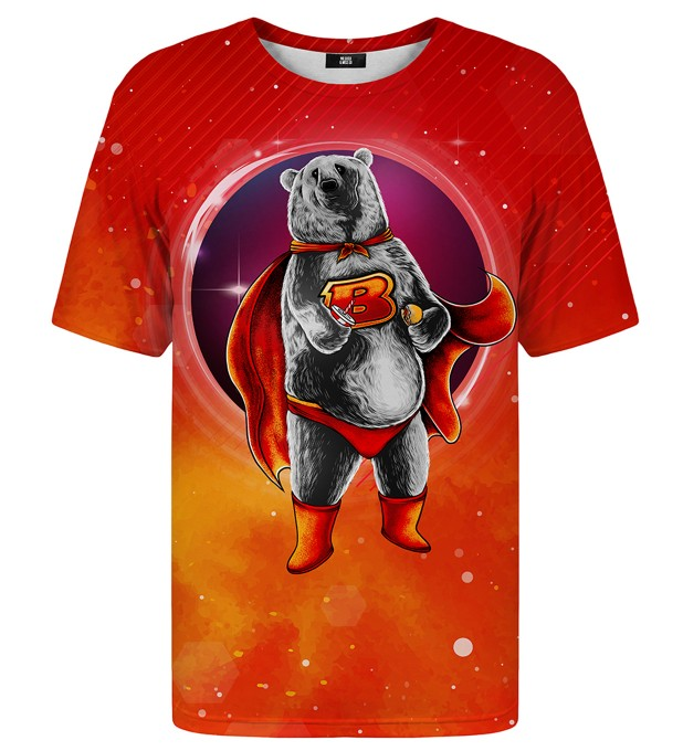 Super Bear t-shirt Miniature 1
