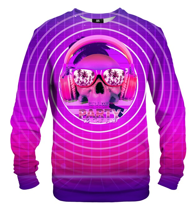 Party to the end sweatshirt Miniaturbild 1