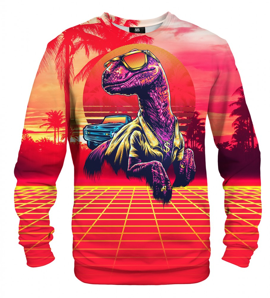 Mr. Gugu & Miss Go, Stylish Raptor sweater Image $i