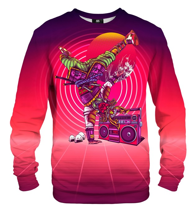 Samurai Dance sweater Miniature 2