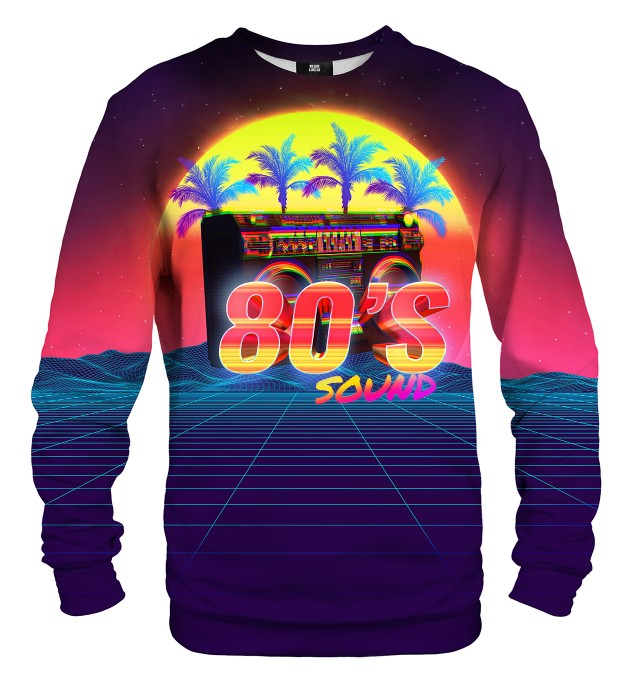 Sounds of 80's sweatshirt Miniaturbild 1