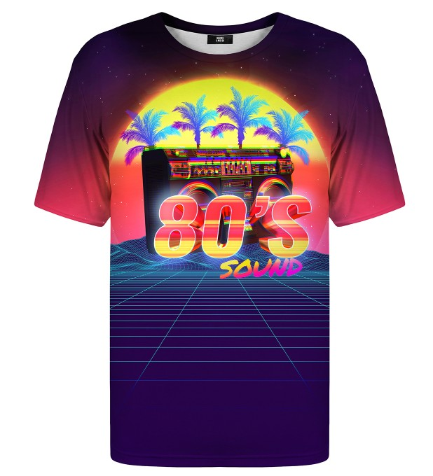 Sounds of 80's t-shirt Miniature 1