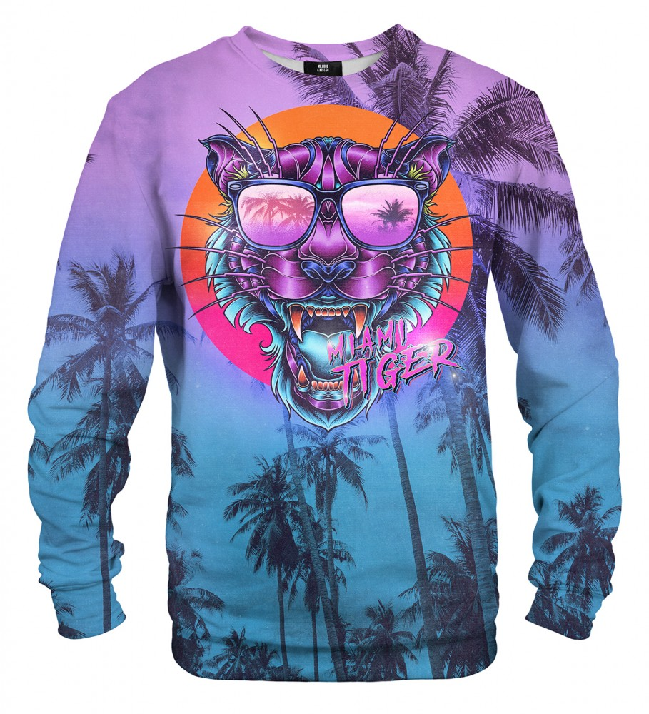 Mr. Gugu & Miss Go, Miami Tiger sweater Imagen $i