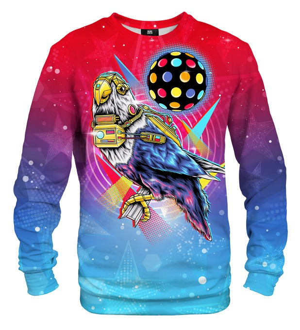 Disco Bird sweatshirt Miniaturbild 1