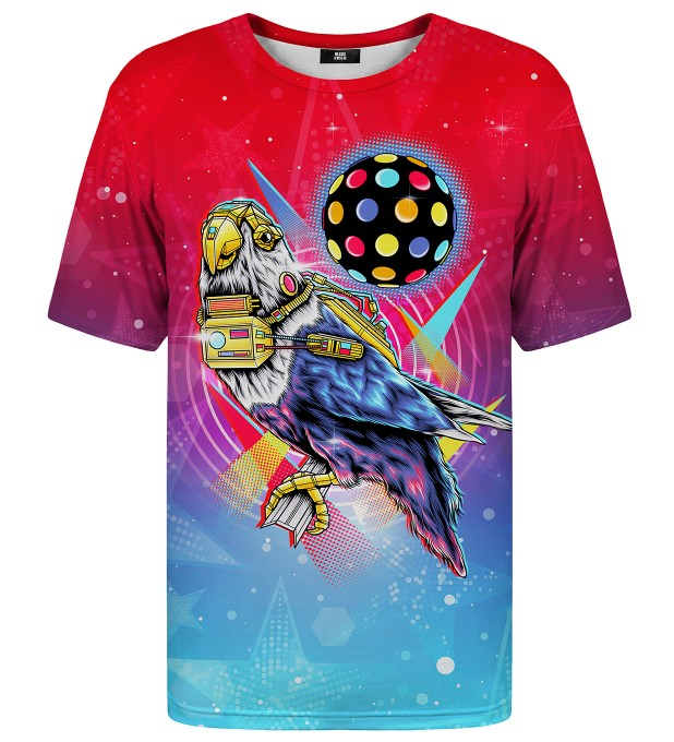 Disco Bird t-shirt Miniatura 1