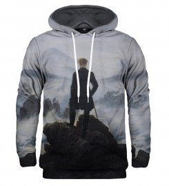 Mr. Gugu & Miss Go, Bluza z kapturem Wanderer above the Sea of Fog Miniatury $i