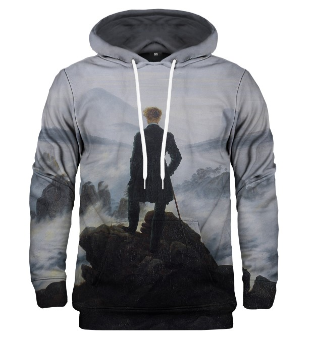Wanderer above the Sea of Fog kapuzenpullover Miniaturbild 1