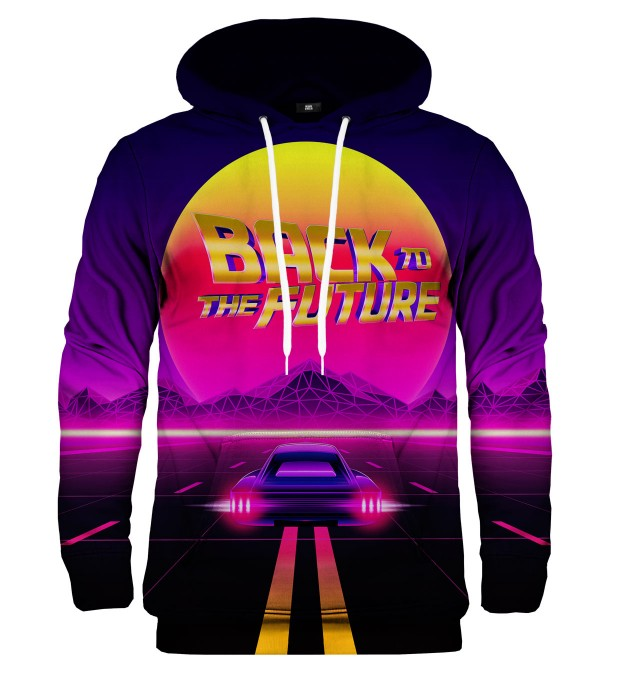 Back to the Future hoodie Miniature 1