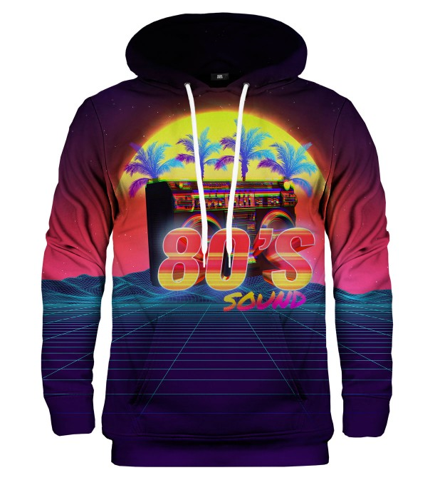 Sounds of 80's hoodie Miniatura 1