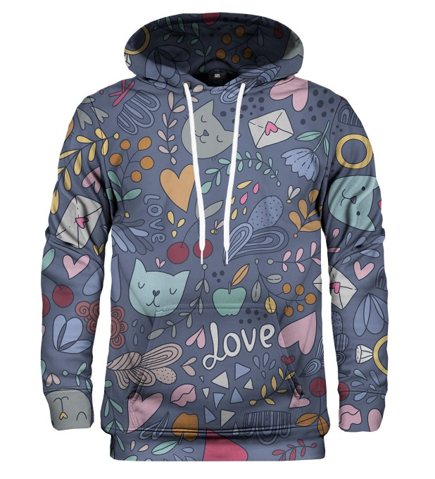 Romantic Cats hoodie Thumbnail 1