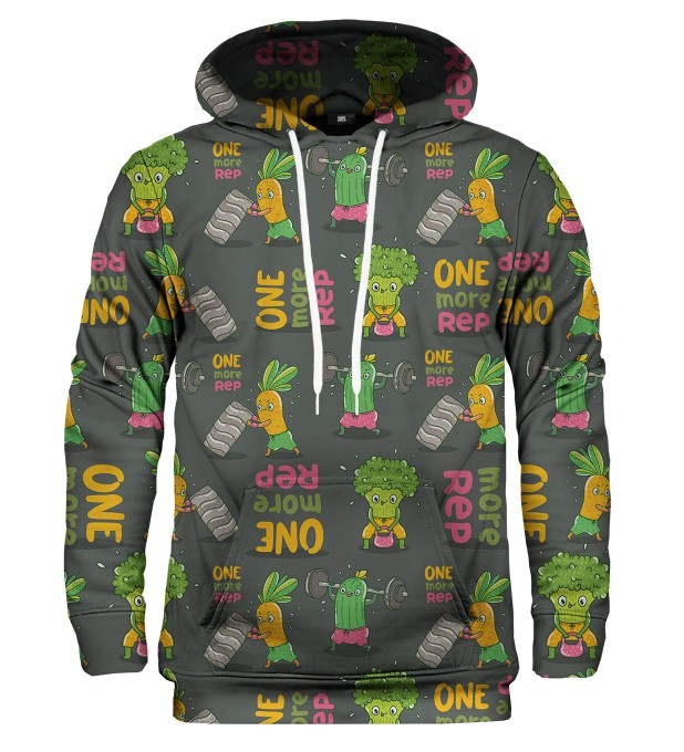 Vegetables Power hoodie Thumbnail 1
