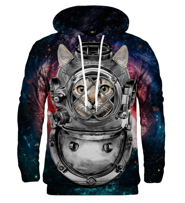 Astronaut Cat hoodie Thumbnail 1