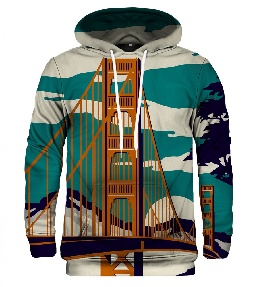 Mr. Gugu & Miss Go, Golden Bridge hoodie Image $i