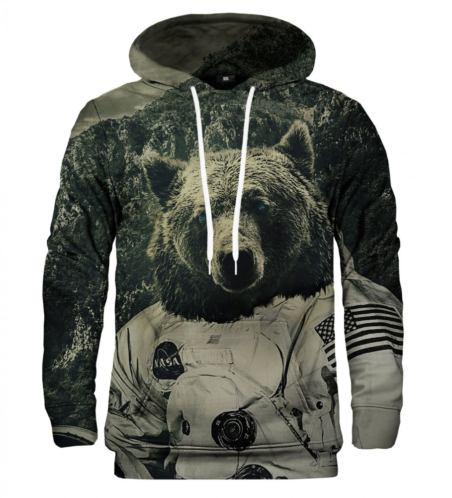 Mr. Gugu & Miss Go, NASA Bear hoodie Image $i