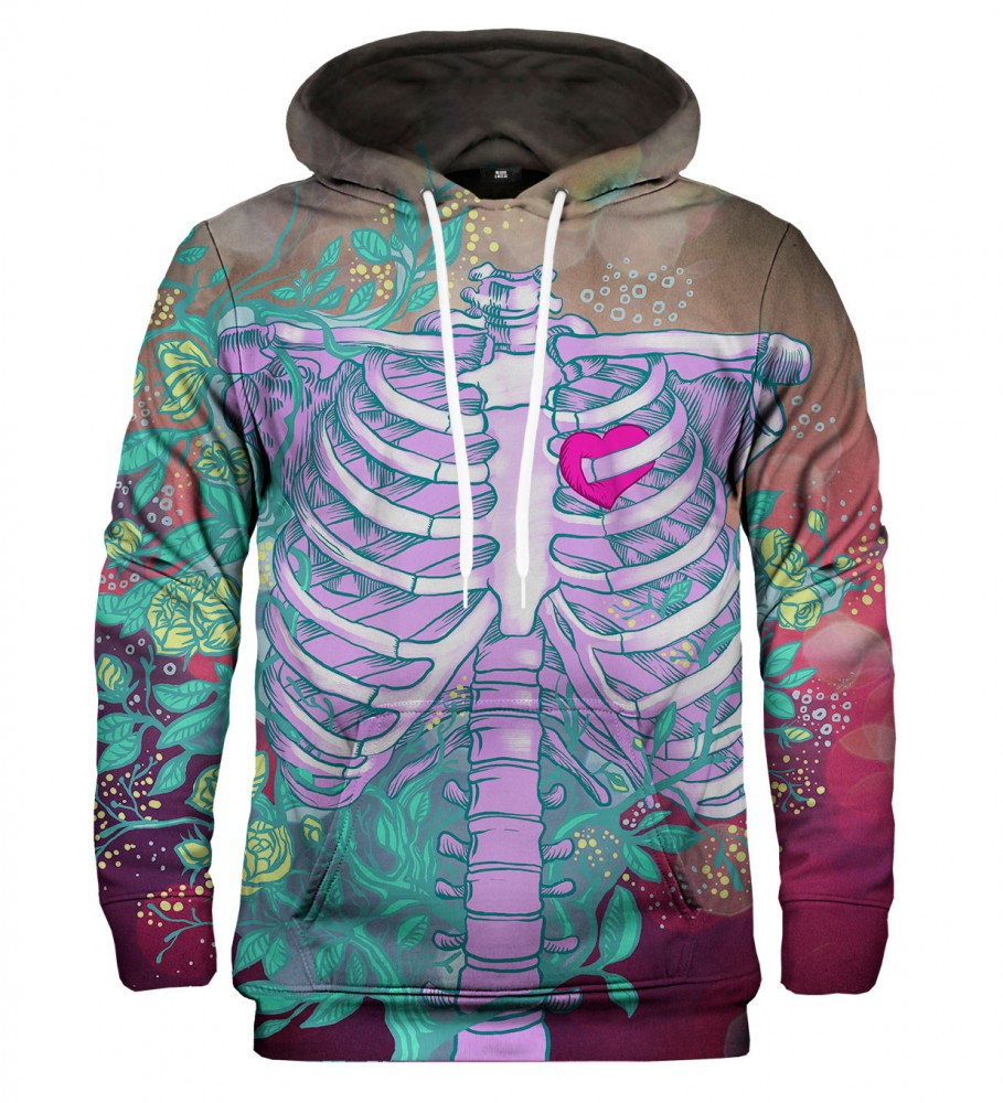 Mr. Gugu & Miss Go, Heart in chest hoodie Image $i