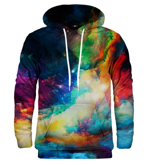 Colorful Space hoodie Thumbnail 2