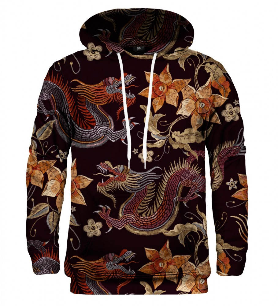 Mr. Gugu & Miss Go, Japanese Dragon hoodie Image $i