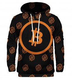 Mr. Gugu & Miss Go, Bitcoin pattern hoodie аватар $i