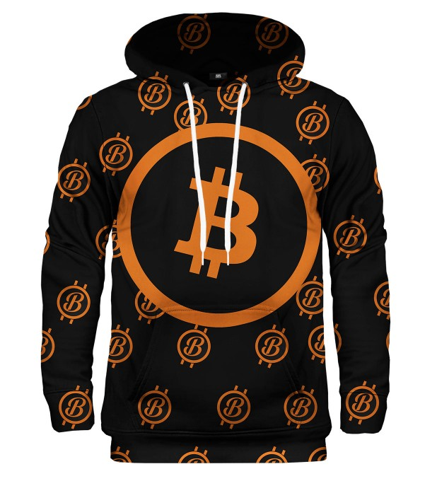 Bitcoin pattern hoodie аватар 1