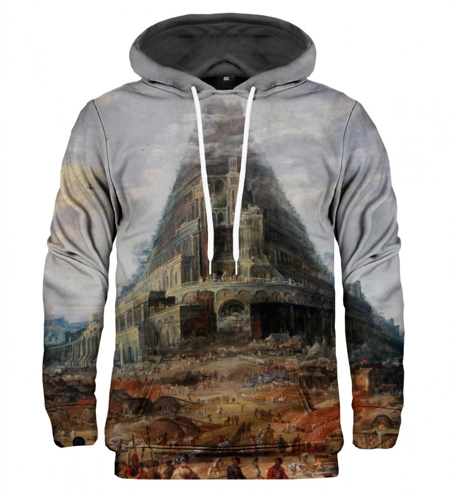 Mr. Gugu & Miss Go, Tower of Babel hoodie Image $i