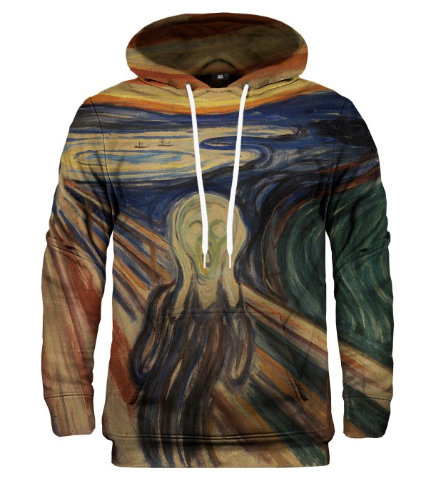 Bluza z kapturem The Scream Miniatury 1