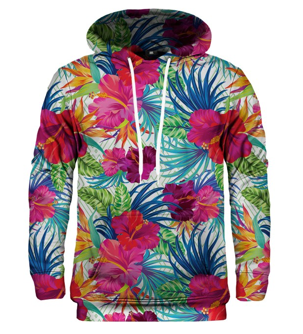 Bluza z kapturem Jungle Flowers Miniatury 1