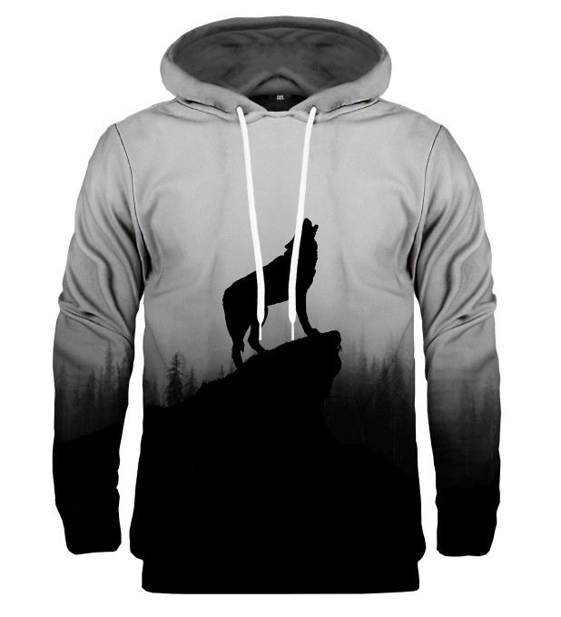 Shadow of Wolf hoodie Thumbnail 2
