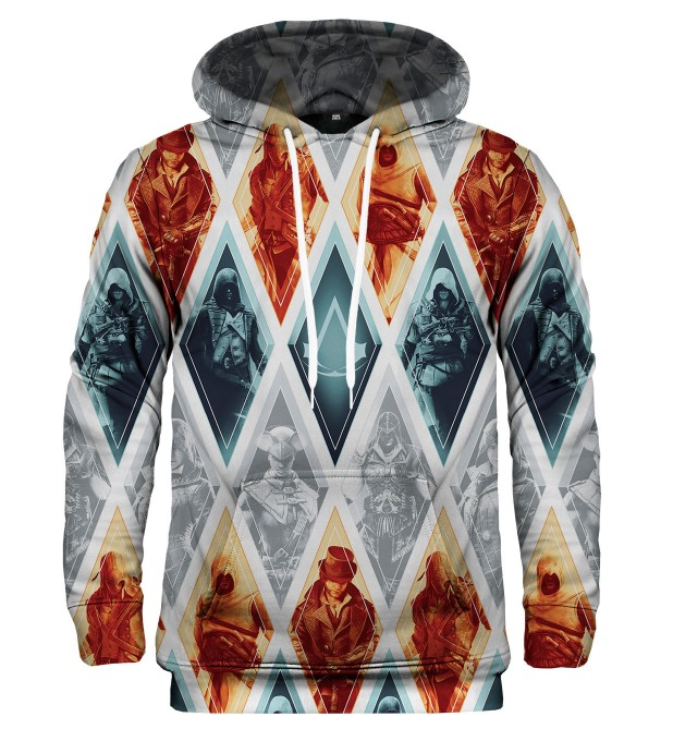 Bluza z kapturem Nothing is True Everything is Permitted Miniatury 1