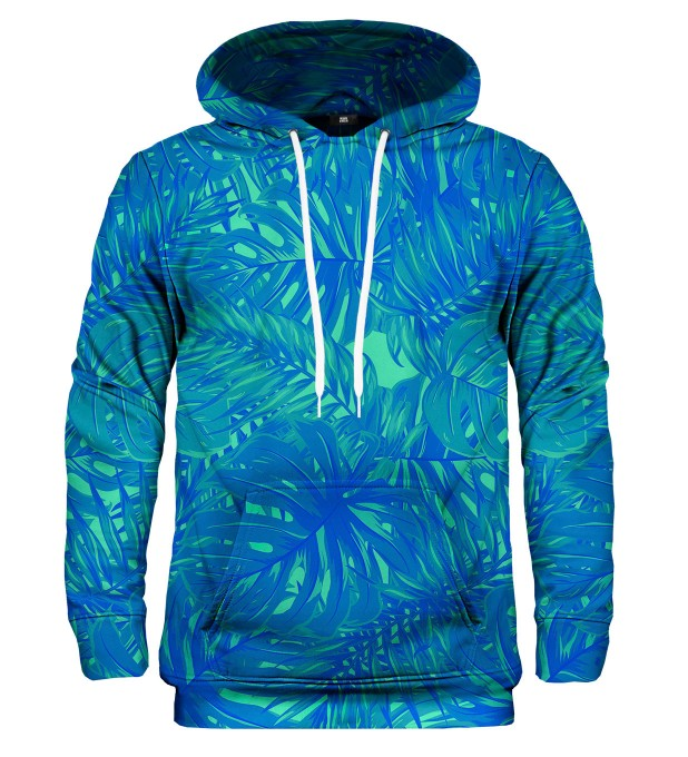 Blue Jungle hoodie Miniatura 1