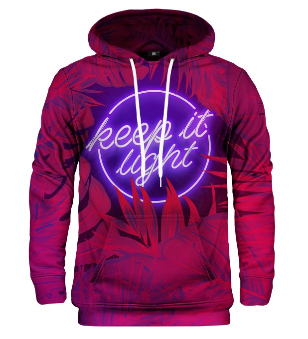 Keep it Light hoodie Thumbnail 1