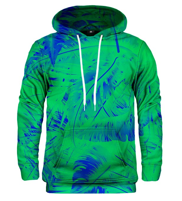 Bluza z kapturem Tropical Green  Miniatury 1