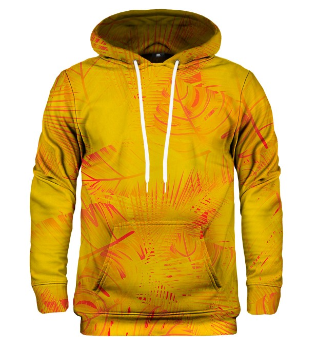Yellow Jungle hoodie Thumbnail 1