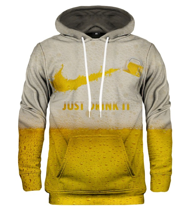 Just drink It hoodie Miniature 1