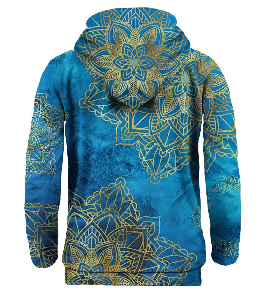 Mr. Gugu & Miss Go, Gold Boho hoodie Immagine $i