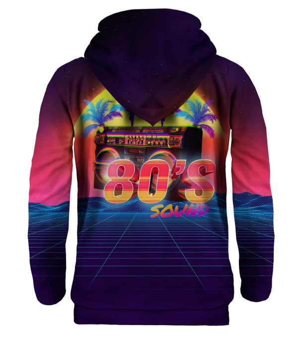 Sounds of 80's hoodie Miniature 2