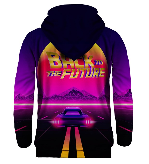 Back to the Future hoodie Miniature 2