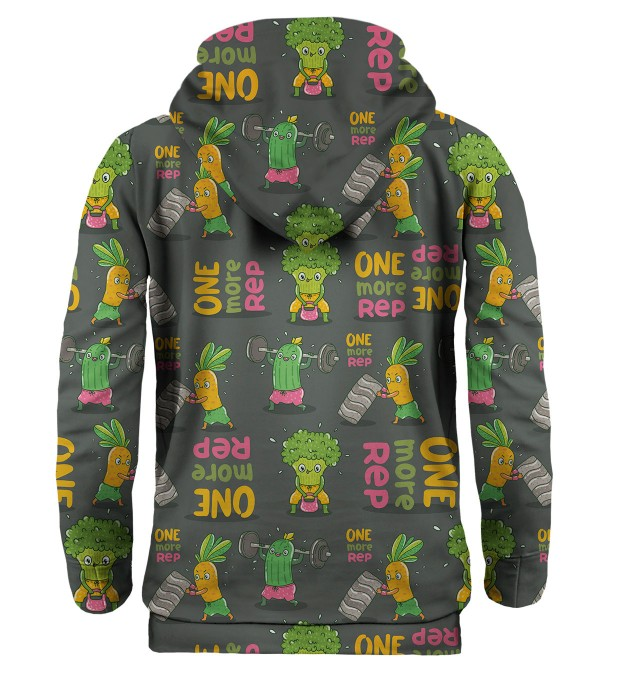 Vegetables Power hoodie Thumbnail 2