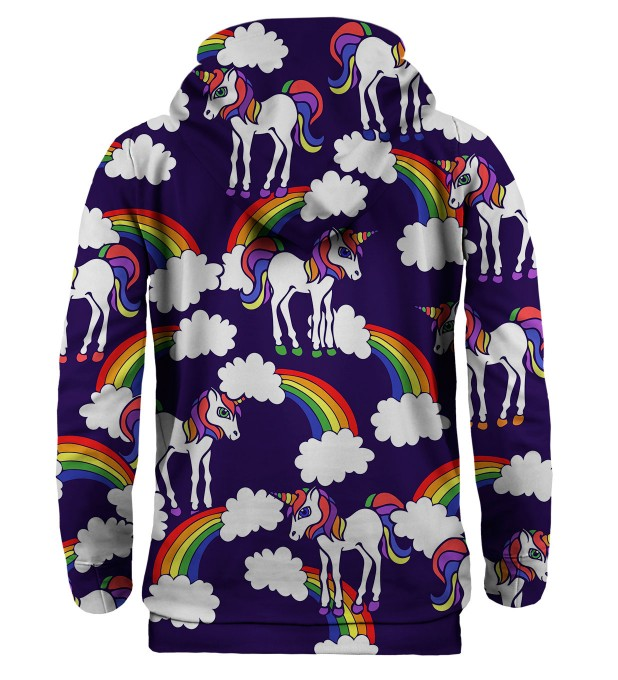 Bluza z kapturem Rainbow Unicorns Miniatury 2