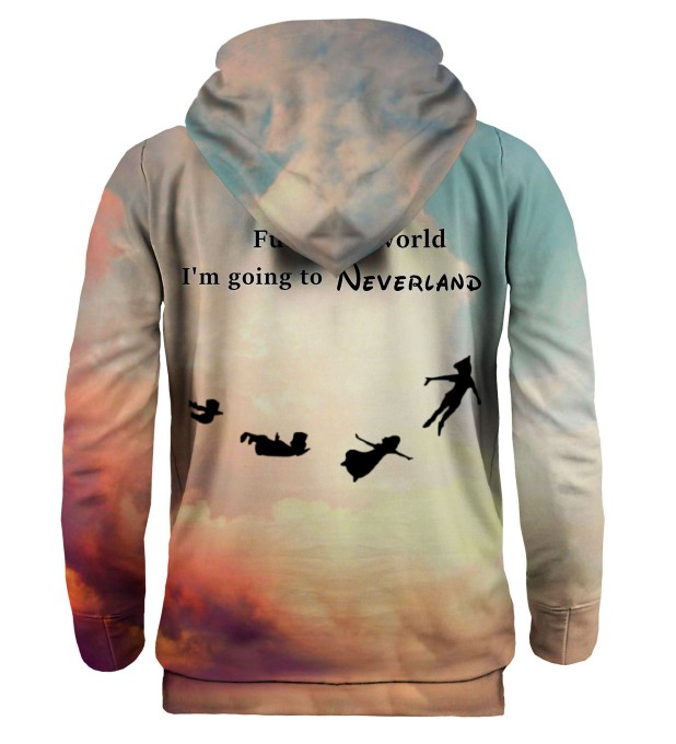 I'm going to Neverland hoodie Miniatura 2