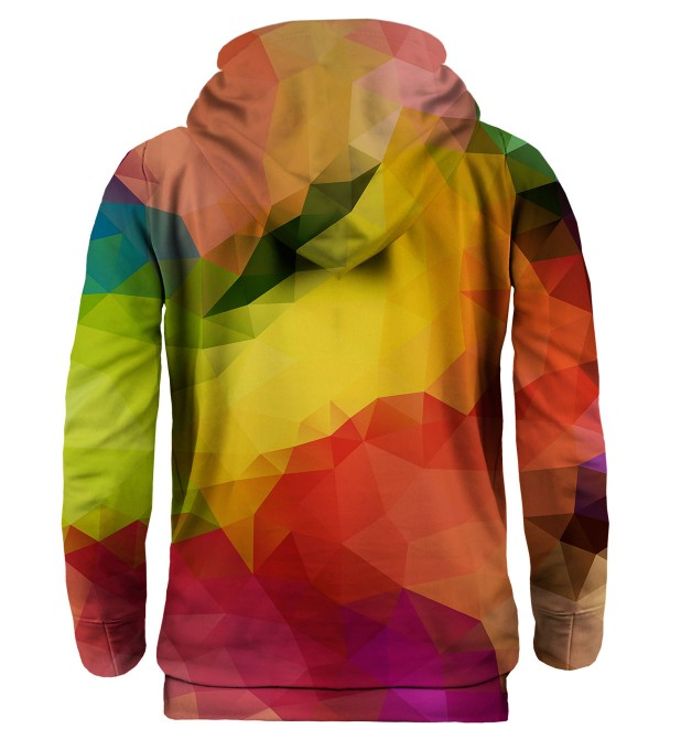 Colorful Geometric hoodie Miniature 2