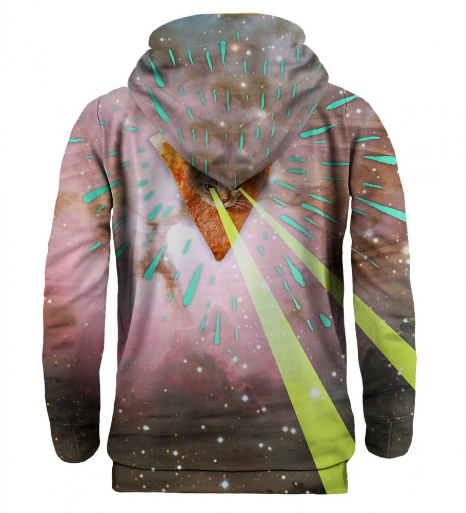 Mr. Gugu & Miss Go, Super Pizza Laser Cat hoodie Image $i