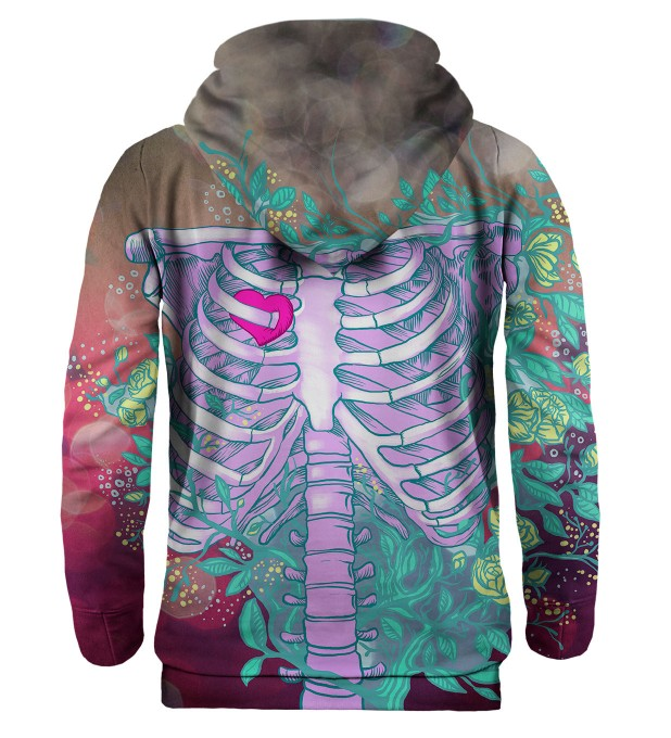Heart in chest hoodie Miniatura 2