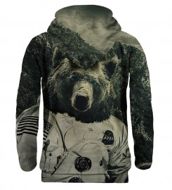 Mr. Gugu & Miss Go, Bluza z kapturem NASA Bear Miniatury $i