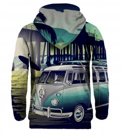 Mr. Gugu & Miss Go, California Life hoodie Miniature $i
