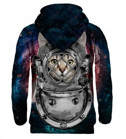 Mr. Gugu & Miss Go, Astronaut Cat hoodie Miniature $i