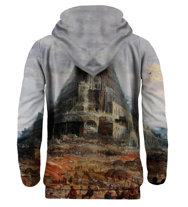Tower of Babel hoodie Thumbnail 2