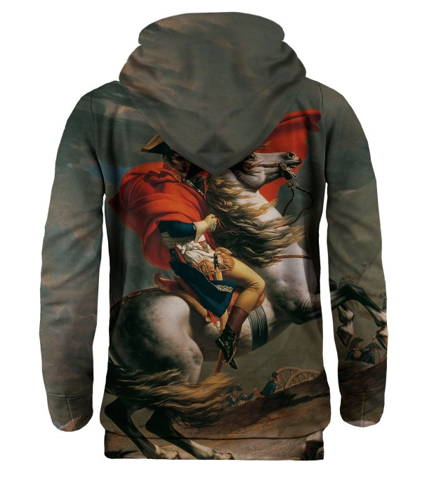 Napoleon Crossing the Alps hoodie Miniatura 2