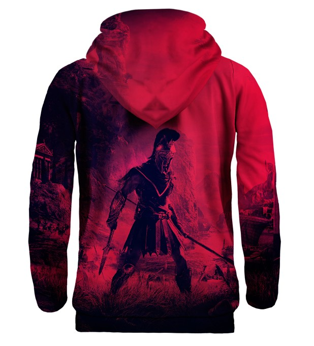 Greek Warrior hoodie Miniature 2